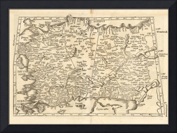 (Asia Minor & Cyprus) Lorenz Fries 1525
