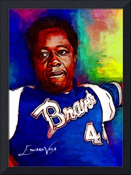 Hank Aaron #13 Wall Art