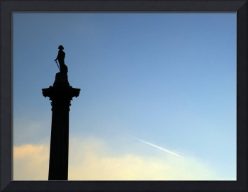 Nelson's Column Looks Over
