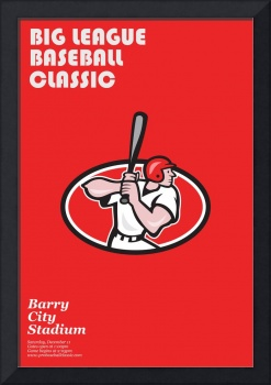 Big League Baseball Classic Poster