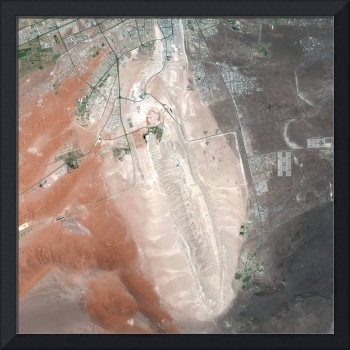 Al Ayn (United Arab Emirates) : Satellite Image