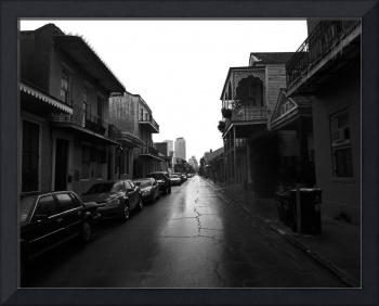 Bourbon Street after a Summer Rain, New Orleans