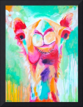 Humphrey - Abstract Camel Painting