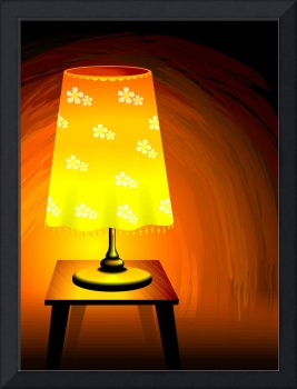 Brightness of the table lamp