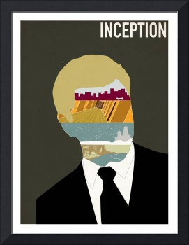 Inception minimalist poster