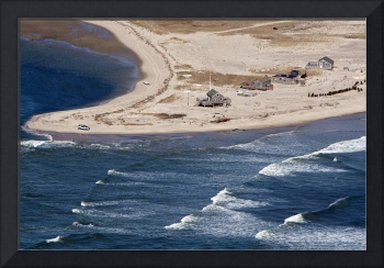 Cape Cod North Beach Break Aerial Photo
