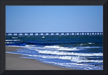 Chesapeake Bay Bridge at Christmas