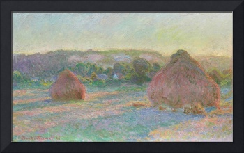 Stacks of Wheat, End of Summer by Claude Monet