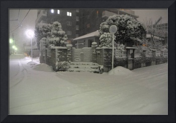 When Snow Falls in Tropical Japan: Yesterday