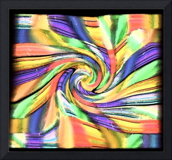 Color Patchwork Swirl