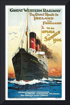 The Direct Route to Ireland by Frederick Simpson
