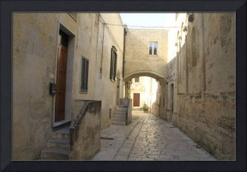 Street in southern Italy