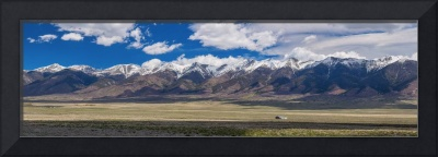 Colorado San de Cristo Mountains Panorama View