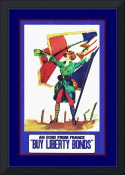 Buy Liberty Bonds Patriotic Girl