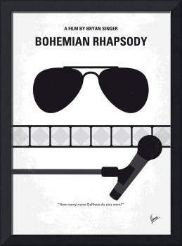 No1038 My Bohemian Rhapsody minimal movie poster