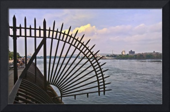 East River View- Looking Northeast, NYC
