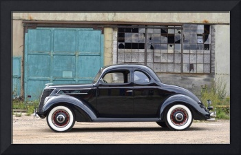 1937 Ford Coupe, Woodie Plant, Kingsford, MI