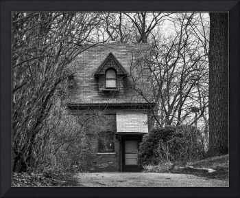 The Carriage House in B&W