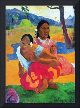 When Are You Getting Married? by Gauguin, 1892