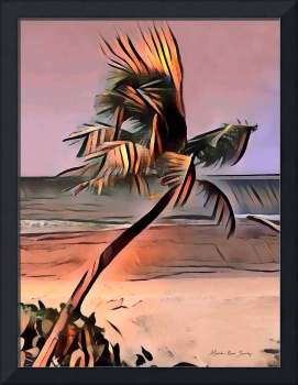 Tropical Seascape Digital Art E7717