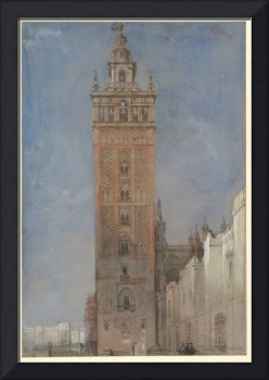 The Giralda, Seville by David Roberts