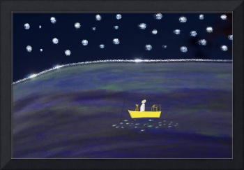 Starry Night Fishing