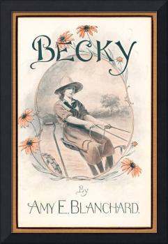 Becky, 1922 book cover art by Frank T. Merrill