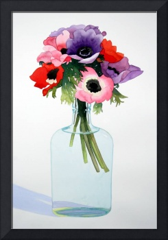 Anemones in a Bottle