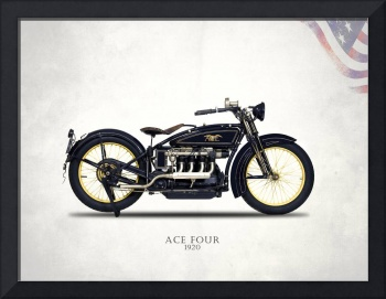 The 1920 Ace Four Motorcycle