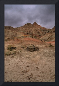 Spring Storm at the Badlands