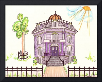 Victorian House in Lavender