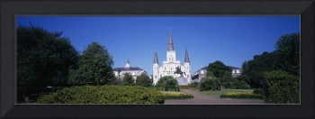 St Louis Cathedral French Quarter New Orleans LA