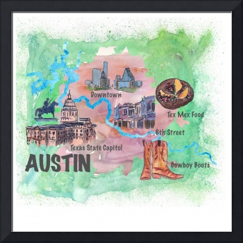 Austin_Texas__Favorite_Map_with_touristic_Highligh
