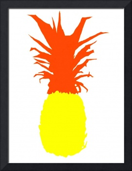 Pineapple yellow red white (c)