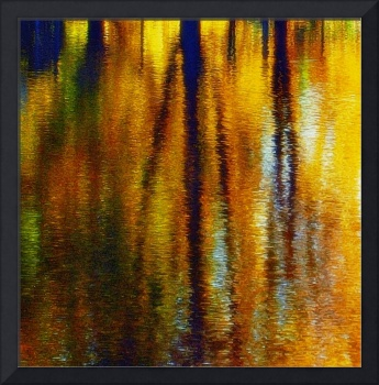 Fall Reflection Abstract