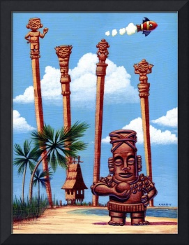 Tiki Island colony