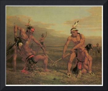 Charles Deas' Indian Ball Game