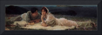 A_World_of_Their_Own by Sir Lawrence Alma-Tadema