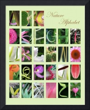 Nature Alphabet Green