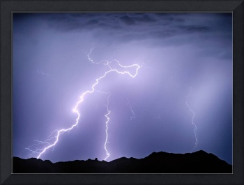 Arizona McDowell Mountain Electrical Discharge