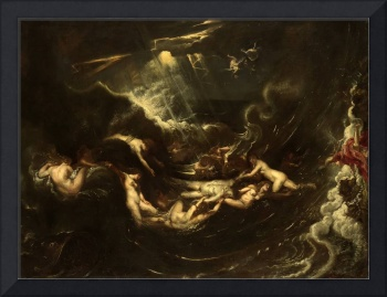 Hero and Leander by Peter Paul Rubens (1605)