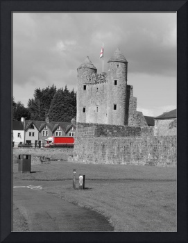 Enniskillen Castle (With a Red Lorry)