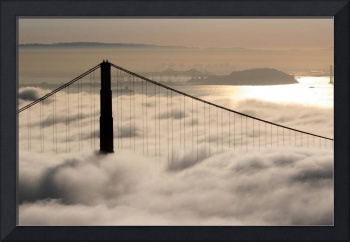Golden Gate Bridge Morning Fog