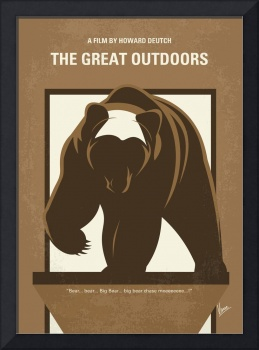 No824 My The Great Outdoors minimal movie poster