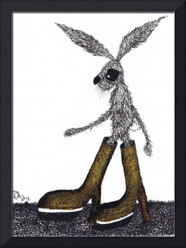 HARE IN BOOTS