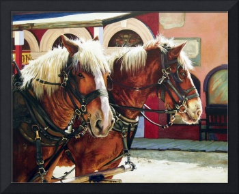 Tombstone Stagecoach Horses