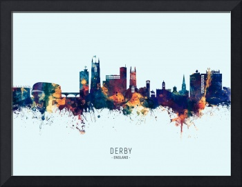 Derby England Skyline