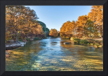 Fall on the Frio River