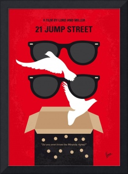 No1051 My 21 Jump Street minimal movie poster