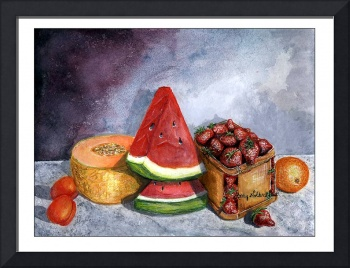 Lucious Fruit Painting